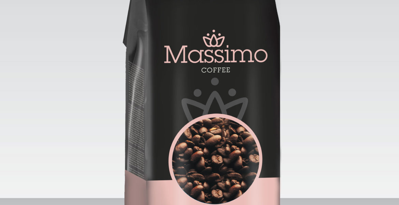 <b>Massimo Premium Coffee</b><br>Roasted Beans & Powder 500g